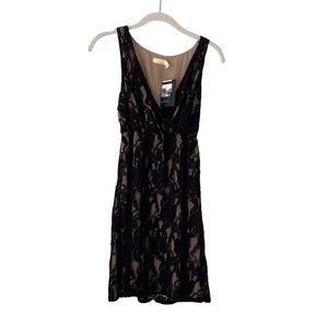Pins and Needles Black Lace Cocktail Dress Small
